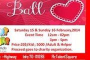 Sweetheart Ball Charity Event @ Talent Square Edutainment Studio