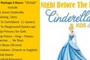 """CINDERELLA"" Night Before The Ball Birthday @ Talent Square Edutainment"