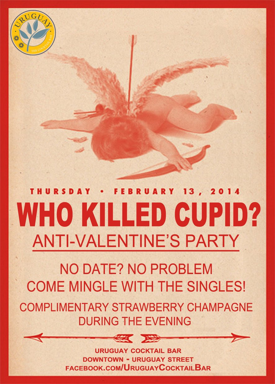 Who Killed Cupid Anti Valentine S Party Lebtivity