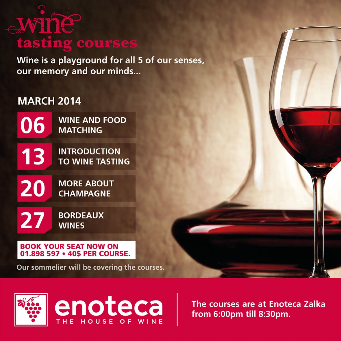 Forum on this topic: Wine Appreciation Course, wine-appreciation-course/