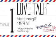 LOVE TALK: Collective Exhibition + Talks on Love