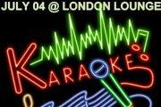 KARAOKE NIGHT @ LONDON LOUNGE