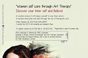 """Women self care through Art Therapy"""
