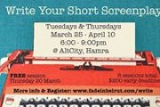 WRITE YOUR SHORT SCREENPLAY - Workshop with FADE IN