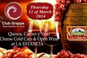 Open French Wine Cheese & Cold Cuts Night with Club Grappe