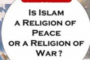 Is Islam a religion of peace or a religion of war?