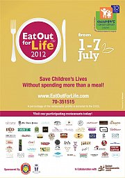 Eat out for Life by CCCL