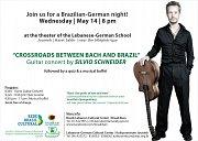 """Guitar Concert by Silvio Schneider """"Crossroads between Bach and Brazil"""