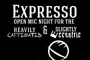 Expresso - Open Mic Night for the Heavily Caffeinated and Alightly Eccentric