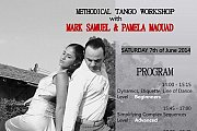 METHODICAL TANGO workshop CREATION with Pamela Maouad and Mark Samuel