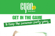 Get in the Game & Keep the Summer Party Going at Cyan