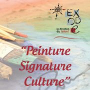 Peinture  Signature  Culture by Exode