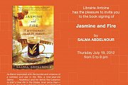 Jasmine & Fire - Book Signing