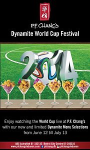Dynamite World Cup Festival at P.F. Chang's