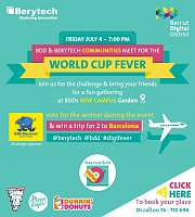 World Cup Fever at Berytech