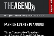 Fashion Events Planning workshop by Ms. Bouchra Boustany