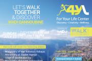 "Wadi Qannoubine trip with ""Walk 4YL Group"""