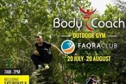 BODY COACH Outdoor Gym in Faqra Club
