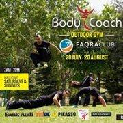 BODY COACH Outdoor Gym in Faqra Club