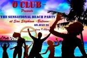 Sensational Beach Party..Happy Birthday O Club