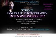 Studio Portrait Photography Intensive Workshop