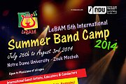 The 5th Annual Camp  of the Lebanese Band Association for the Promotion of Music - LeBAM