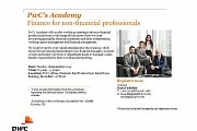 PwC's Academy Finance for non-financial professionals