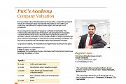 PwC's Academy, Company Valuation