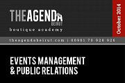 Events Management and Public Relations Workshop with Maria Boustany