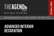 Advanced Interior Decoration Workshop  with Katia Nakhal