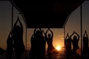 Beach Sunset Yoga Class