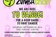 LEBANON'S 2ND ZUMBATHON® CHARITY EVENT  FOR BREAST CANCER AWARENESS