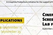 Cinephilia Screenwriting Lab for Shorts    Beirut 2014