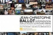 """""""Intervention sur la ville et le paysage urbain"""", une conférence de Jean-Christophe Ballot"""