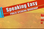 Speaking Easy: Public Speaking Workshop