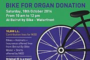 Bike for Organ Donation, at Beirut by Bike- Waterfront