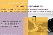 Public Seminar: Getting to Greatness by Dr. Naji Bejjani