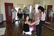 Dynamic Gymnastic for Newborns in Houna Center