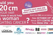 Make the Cut: Hair Donation Event - Free Cuts + Styling!