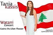 Watani Concert by Tania Kassis in Lebanon