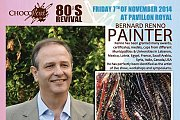 The 180th live show of  Bernard Renno with Chocol'art 80's Revival