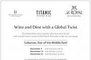 Wine & Dine with a Global Twist