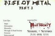 Rise Of Metal Fest. I