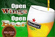 Open Wings & Open Beer @ Kudeta Cafe