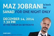 Maz Jobrani back to Lebanon to support SANAD!