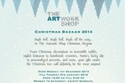 The Artwork Shop Christmas Bazaar 2014