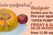 "PUMPKIN DAY - Open ""Ghapama"" Buffet"