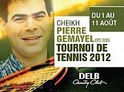 Tournoi de Tennis 2012 - Cheikh Pierre Gemayel