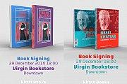 Book Signing of Hilmi Al Tuni and Nasri Khattar Books