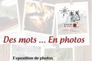 """""""Des mots...en photos"""" Exposition de photos illustrées par des mots colorés"""